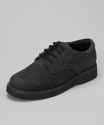 Black Nubuck James Dress Shoe