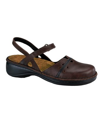 Toffee Gardenia Closed-Toe Sandal - Women