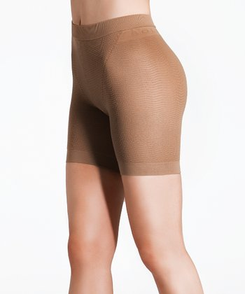 "Noisette ""Anti-Cellulite"" Mild Compression Shorts - Women & Plus"