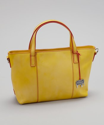 Lemon Grab Handle Tote