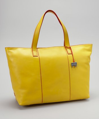 Lemon Shopper Tote