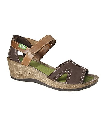 Chocolate Picanya12 Wedge Sandal
