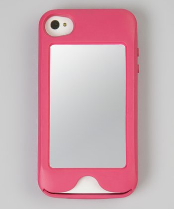 Pink Flambé Mirror Looker Case for iPhone 4/4S