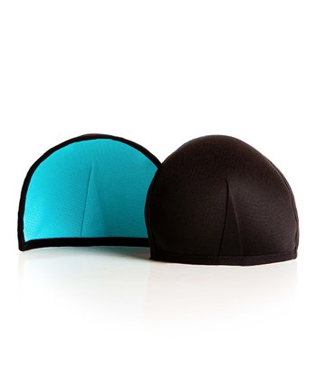Blue & Black Contoured Nursing Pad - Set of Two
