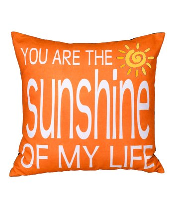 Orange 'Sunshine' Pillow