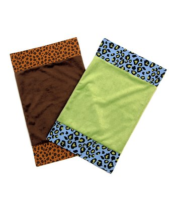 Jazzie Jungle Burp Cloth Set
