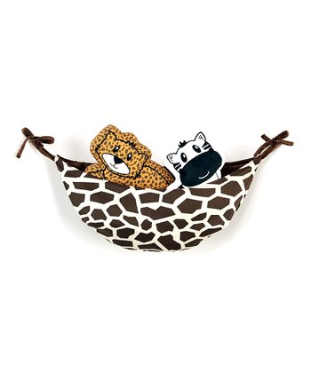Carmel & Brown Jazzie Jungle Toy Hammock