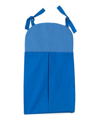 Blue Simplicity Diaper Stacker