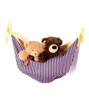 Purple & Black Sassy Shaylee Toy Hammock