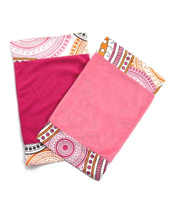 Sophia Burp Cloth Set