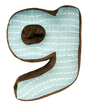 'G' Puppy Pal Letter Pillow