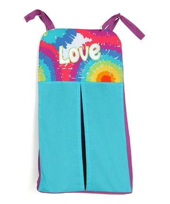 Terrific Tie-Dye Diaper Stacker