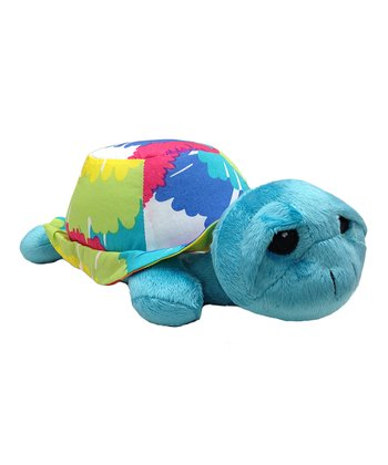 Turtle Terrific Tie-Dye Plush Toy