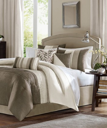 Natural Houston Comforter Set