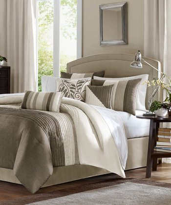 Natural Houston Duvet Set