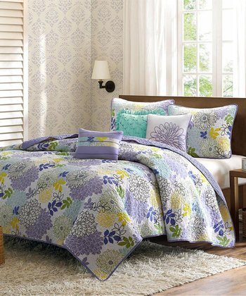 Paige Quilted Coverlet Set