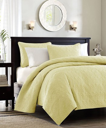Yellow Taylor Coverlet Set