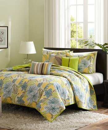 Normita Quilted Coverlet Set