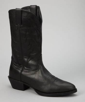 Black Competitor Cowboy Boot - Men