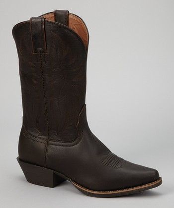 Chocolate Competitor Cowboy Boot - Women