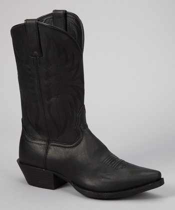 Black Competitor Cowboy Boot - Women