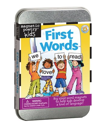 First Words Magnet Learning Kit