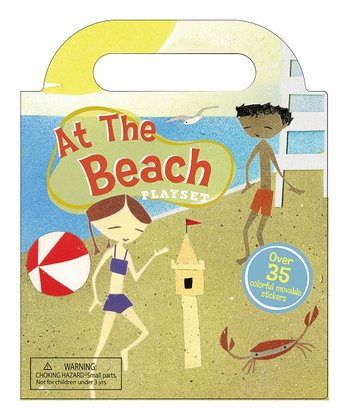 At the Beach Sticker Play Set