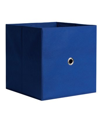 Cobalt Blue Drawer Storage Cube - Set of Two