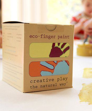 Eco-Finger Paint Set