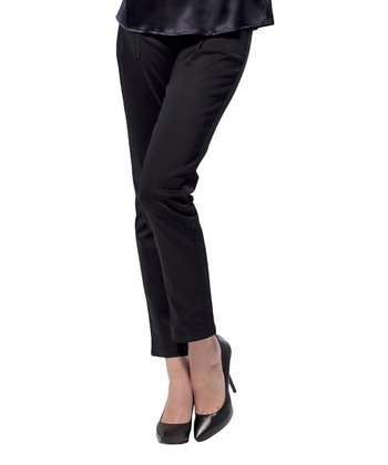 Black Stretch Maternity Skinny Pants
