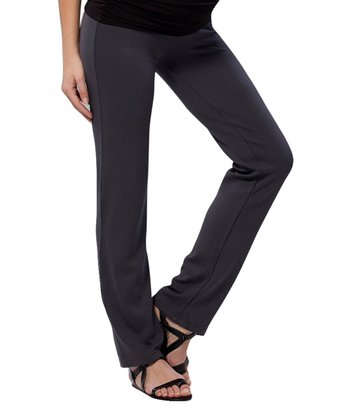 Rock Gray Maternity Skinny Pants