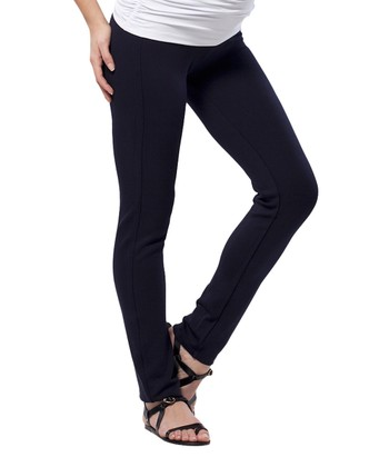 Eclipse Blue Maternity Skinny Pants