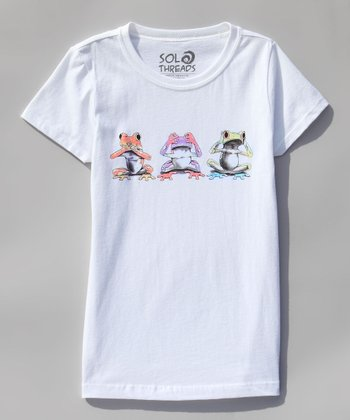 White Speak, See, Hear No Evil Tee