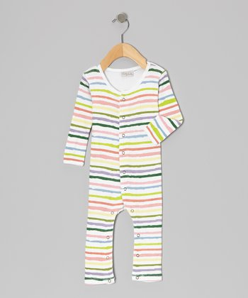 Rainbow Stripe Playsuit - Infant & Toddler