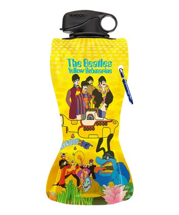 The Beatles 'Yellow Submarine' Collapsible Water Bottle