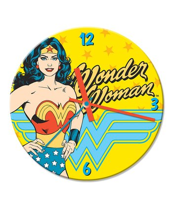 Wonder Woman Cordless Wall Clock