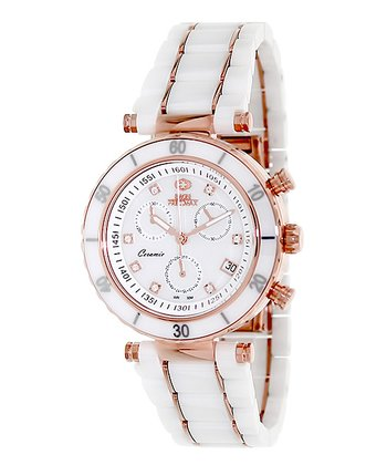 White Sophie Ceramic Elite Watch