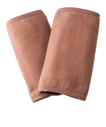 Mocha Organic Teething Pad - Set of Two