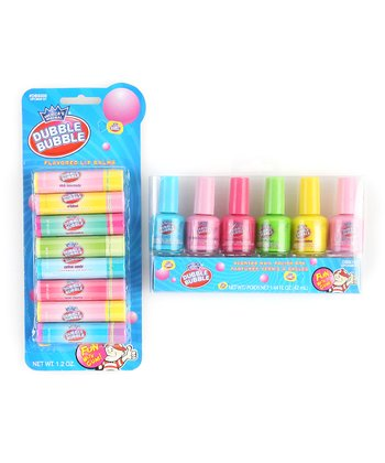 Dubble Bubble Lip Balm & Nail Polish Set