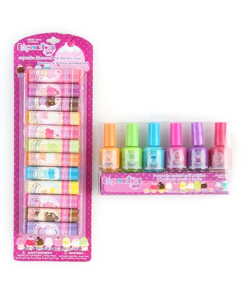 Cupcake Lip Balm & Nail Polish Set