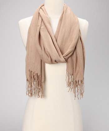 Camel Simply Stated Scarf
