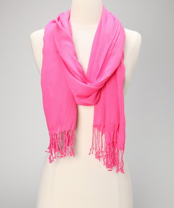 Hot Pink Simply Stated Scarf