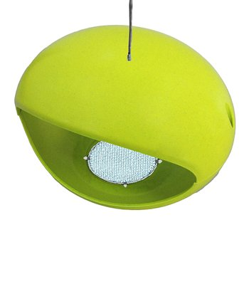 Key Lime Bamboo Egg Hopper Birdhouse
