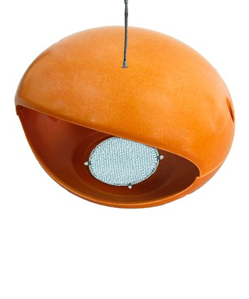 Rust Bamboo Egg Hopper Birdhouse
