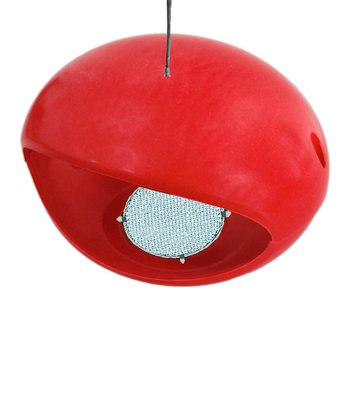 Ruby Bamboo Egg Hopper Birdhouse