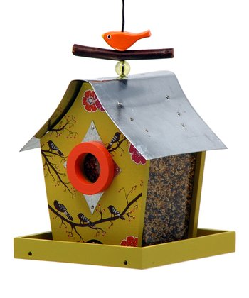 Musical Birds Retro Chic Bird Feeder