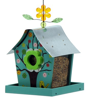 Four Seasons Retro Chic Bird Feeder