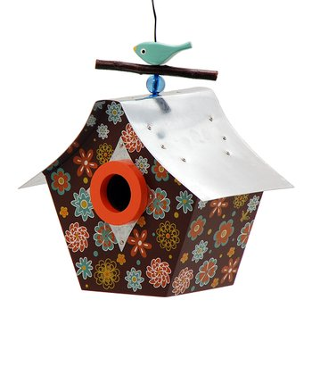 Flower Power Birdhouse