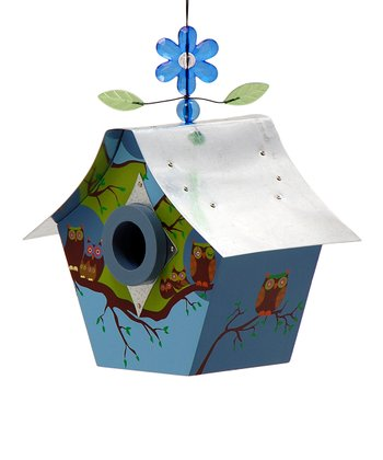 Owl Family Birdhouse
