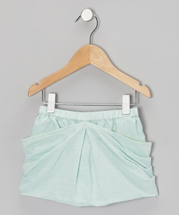 Mint Chip Hopscotch Skort - Toddler & Girls